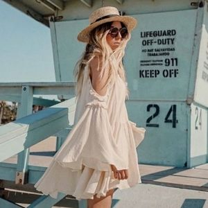 Spell & the gypsy florence mini dress creme brulee